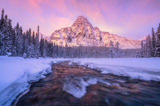 Canadian Rockies Winter