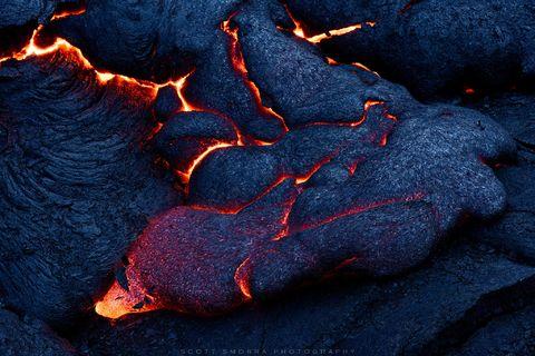 Hawaii, Big Island, Volcanoes National Park, Kilauea, 61G, Lava, flow,