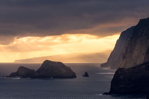 Hawaii, Big Island, Pololu, Valley, sunrise, light, trail,