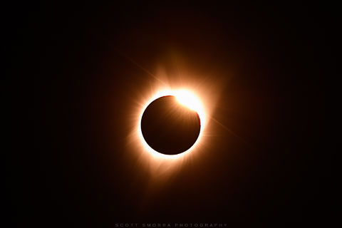 North America, Total Solar Eclipse, totality, 2017