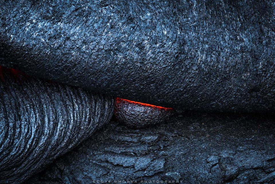 Hawaii, Big Island, Volcanoes National Park, Kilauea, 61G, Lava, flow