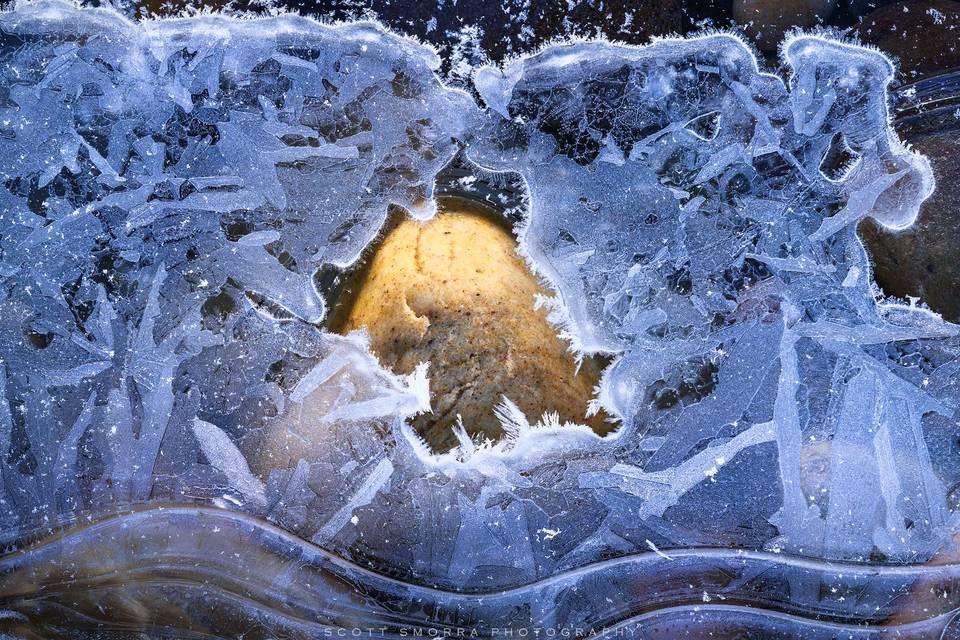 Banff National Park, Alberta, Canada, Canadian Rockies, winter, ice, abstract, rock