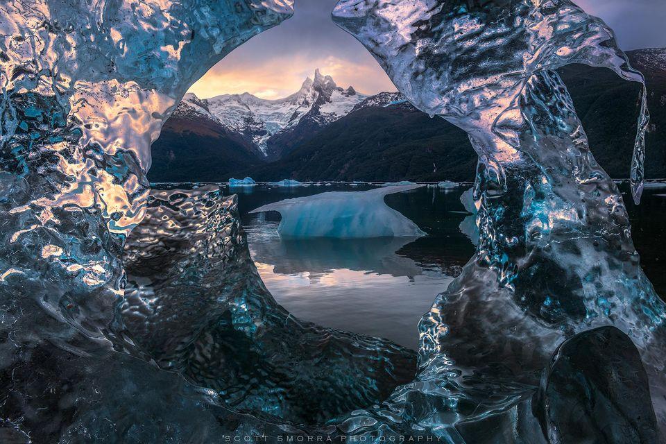 Patagonia, Chile, Fjords, glacier, ice, iceberg, peaks, snow,