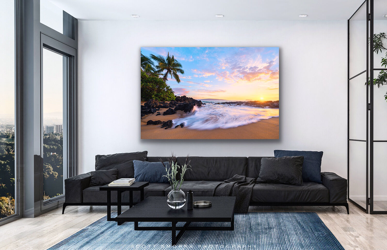 A photo of a TruLife acrylic print of Scott Smorra Photography's