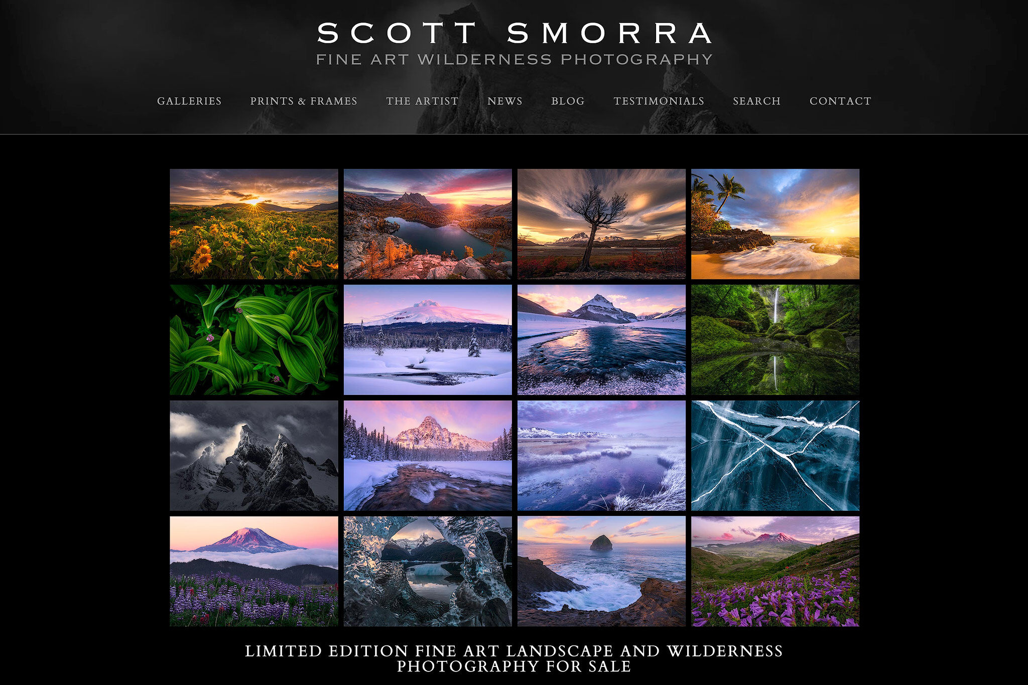 Scott Smorra, Photography, Website, Homepage, Limited Edition, Fine Art